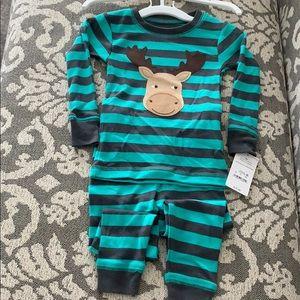 Carters Just one you pajamas moose